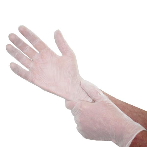 Disposal Vinyl Medical Exam Gloves 100pc