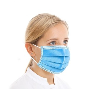 Face Mask Single-Use Disposable Earloop 3 Layers face mask Wholesale Mask 100pc-2000pc