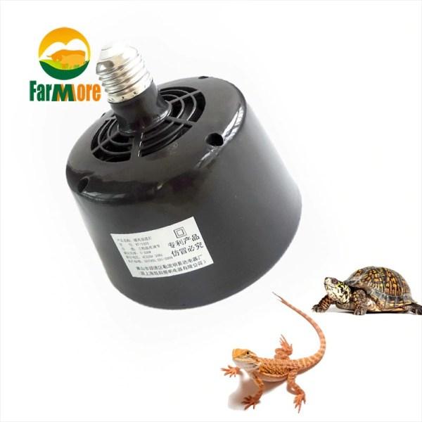 Pet Heater 5W~100W Adjustable Heating Lamp Fan Insulation Lantern Turtle Lizard Reptile Incubator Box Temperature Controller