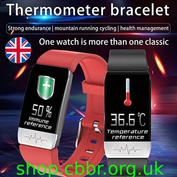 body temperature & ECG monitor profession smart watch Letike T1 sport fitness tracker for men women Clock thermometer