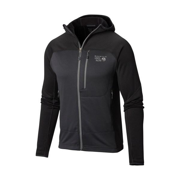 Mountain Hardwear Desna Grid Hooded Jacket | Mid Layers ...