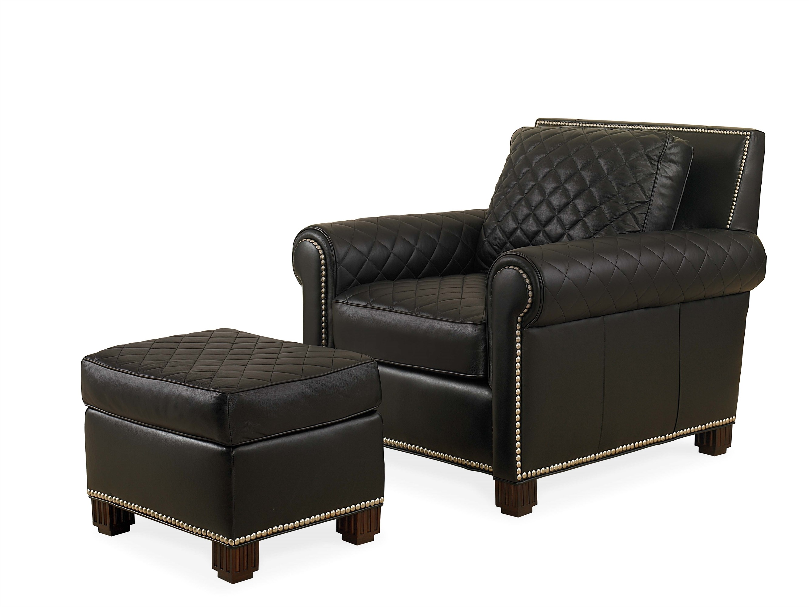 large leather chair with ottoman desk amazon prime