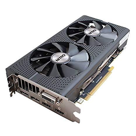 SCHEDA VIDEO PCI-E Radeon RX 480 NITRO OC 8192Mb/256Bit GDDR5