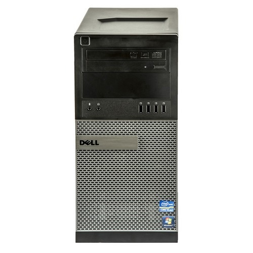 DELL 790 TOWER Intel® Core i5-2400, 4096Mb DDR3 HDD 500GB. W10 Home.