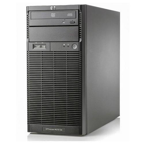 HP Proliant ML110 G6 tower Xeon Quad Core X3430- 8 Gb Ram- 2x HDD 500 Gb S-ata - raid