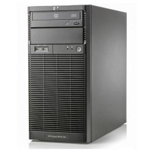 HP Proliant ML110 G6 tower Xeon Quad Core X3430- 8 Gb Ram- 2x HDD 500 Gb S-ata - raid