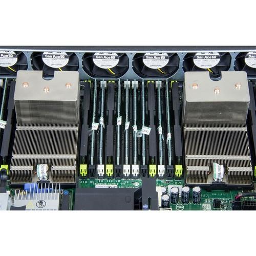 DELL POWEREDGE R720 2x Intel Xeon HexaCore E5-2640 32GB DDR3, HDD 2x2TB SAS