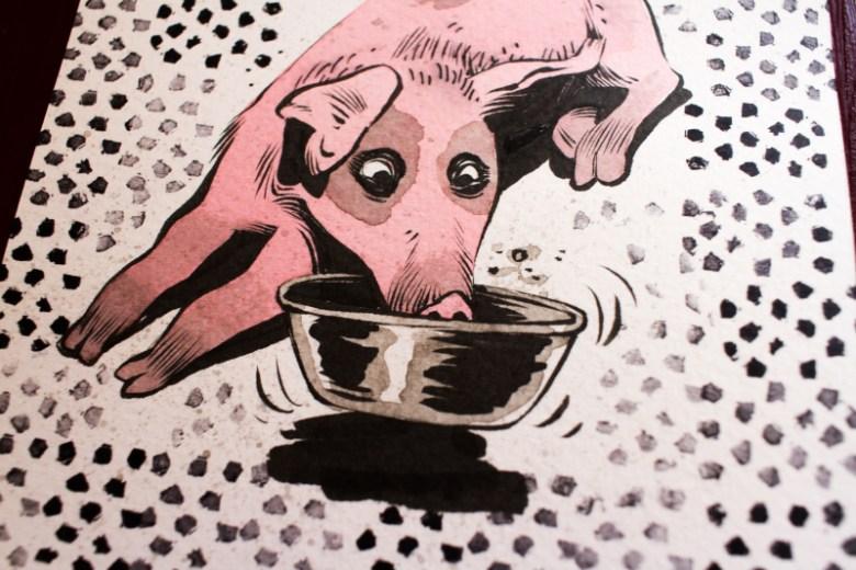 Original pinky piggy