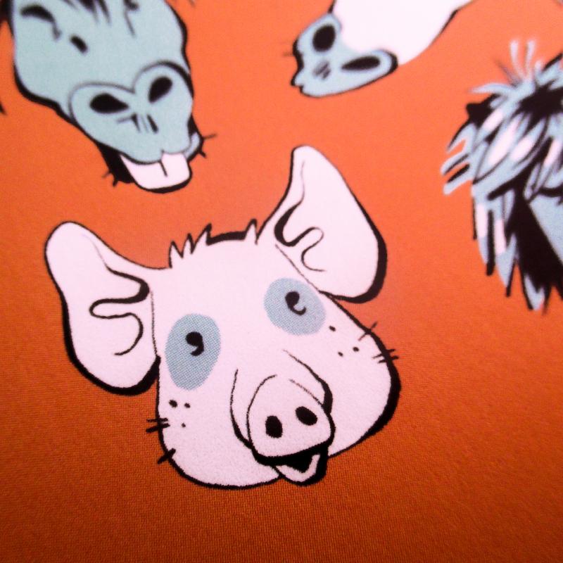 carte artprint cochon