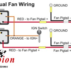Champion Generator Wiring Diagram Citroen C5 Radiator Great Installation Of How To Properly Wire Electric Cooling Fans Rh Shop Championcooling Com Home