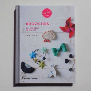 homemade brooches