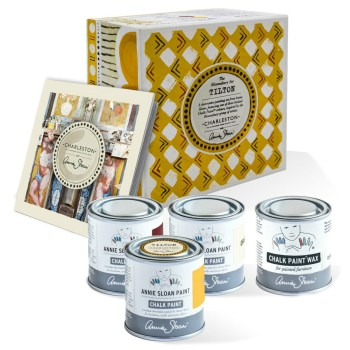 annie-sloan-with-charleston-decorative-paint-set-in-tilton-contents-new-896