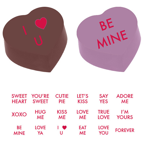 Valentines Day Sayings Magnetic Product Detail 905025s
