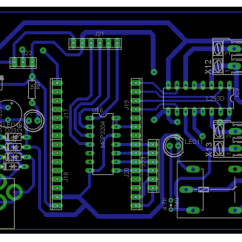 5 Pin Relay Circuit Diagram 3 Phase Wiring Diagrams Motors Iot Based Dc Motor Speed And Direction Controller - Electronics Engineering Project Shop