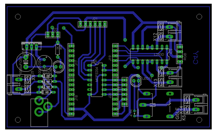 wiring diagram for a 5 pin relay electric motor iot based dc speed and direction controller - electronics engineering project shop