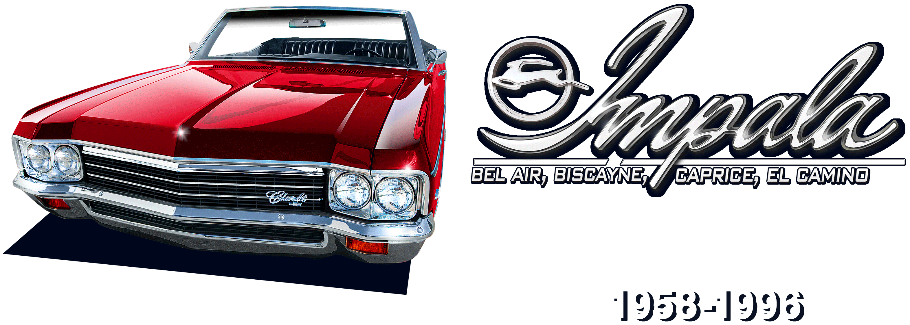 medium resolution of impala bel air biscayne caprice el camino 1958 1996