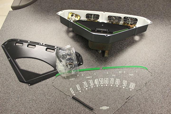 1968 Camaro Fuel Gauge Wiring Diagram Classic Instruments Store Classic Boneyard