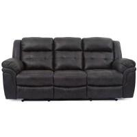 Houston Slate Reclining Sofa | Cleo's Furniture