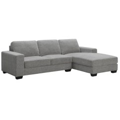 Marco Gray Chaise Sofa European Beds Sectional 2 Pc Cleo S Furniture Lightbox