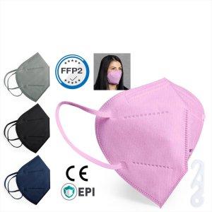 Mundschutzmaske FFP2 (20 Stück VE) – farbig