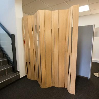Holztrennwand FLEX