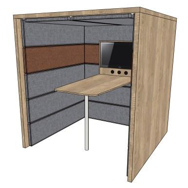 coneon-Akustikbox Stehmeeting