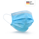 Medizinische Einwegmaske (Made in Germany) (50er Packg.)