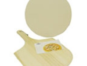 Kitchen Collection 13 Inch Pizza Stone Set  Cooking with