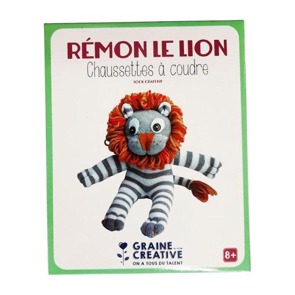 Chaussettes à coudre rémon le lion