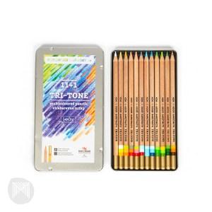 Crayons de couleur tri-tone - koh-i-noor