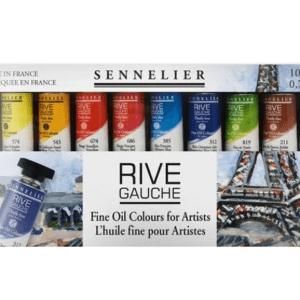 Peinture à l'huile Sennelier