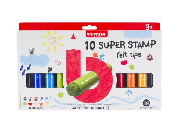10 super stamp