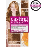 loreal casting creme gloss hair colour dark blonde 700 1pk online at countdown