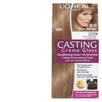 loreal casting creme gloss hair colour pearl blonde 810 1pk online at countdown