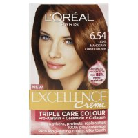 Buy l'oreal paris excellence hair colour light mahogany