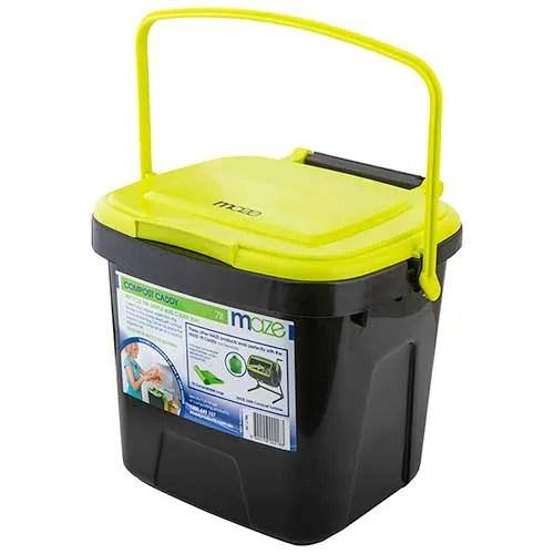 compost bin for kitchen kohler sinks home depot buy maze caddy 1ea online at countdown co nz