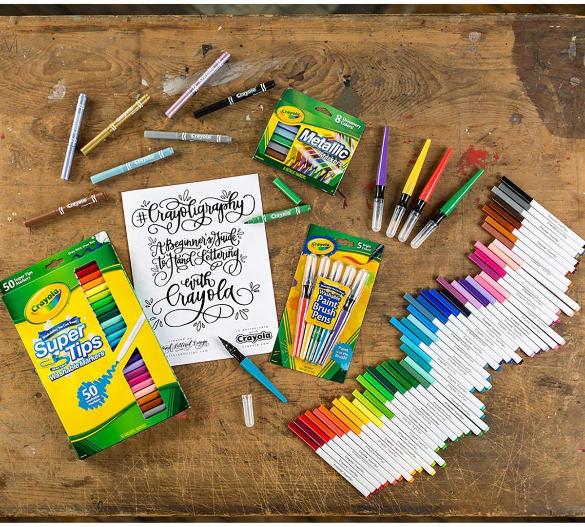 Crayoligraphy Calligraphy Set