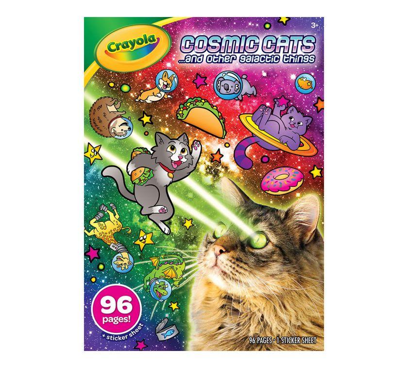 animal coloring books cats unicorns & more  crayola