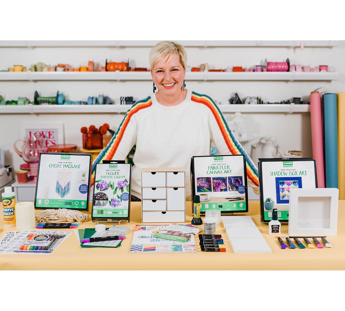 Craft Kits For Adults Diy Craft Supplies Crayola Com Crayola