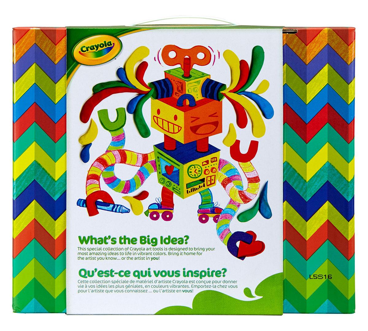 Big Ideas Craft Box Art Supplies For Kids Crayola Com Crayola