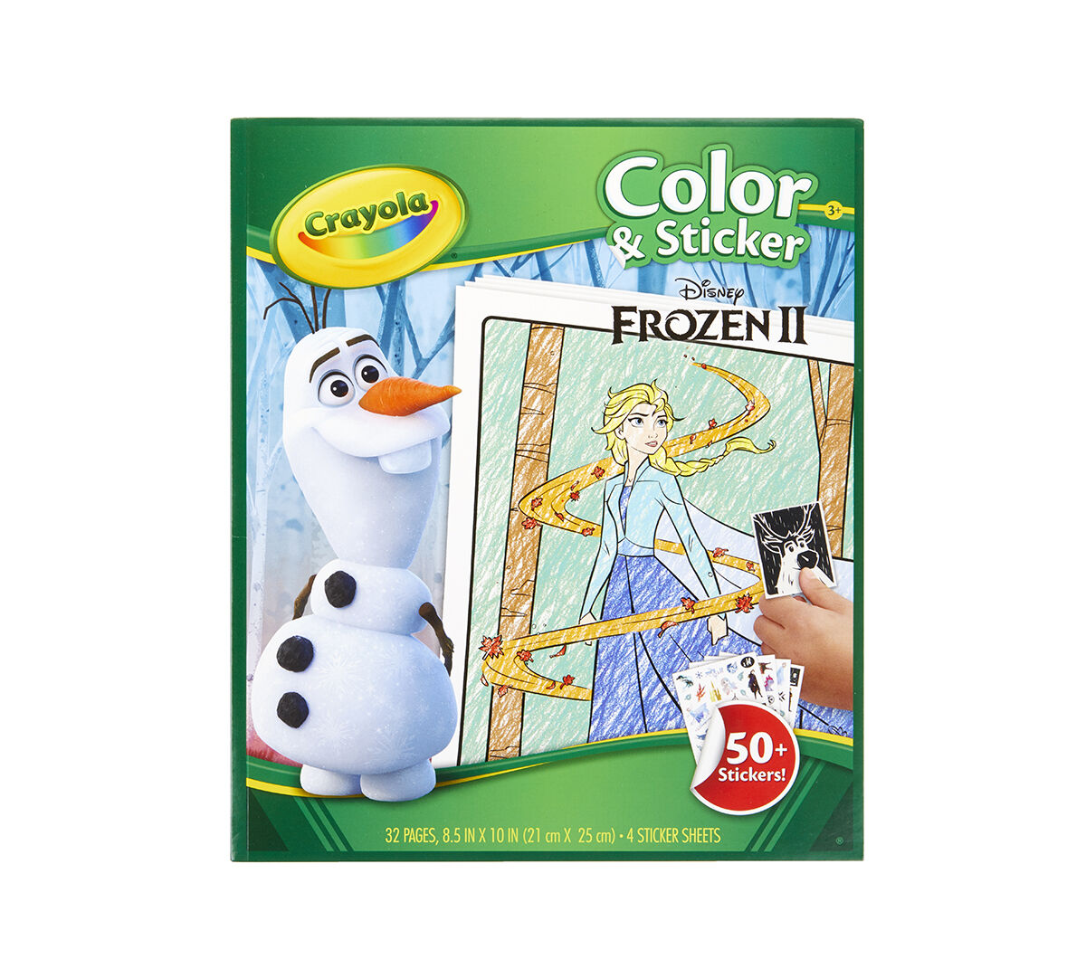 Color Book Frozen 2 - Free Coloring Page