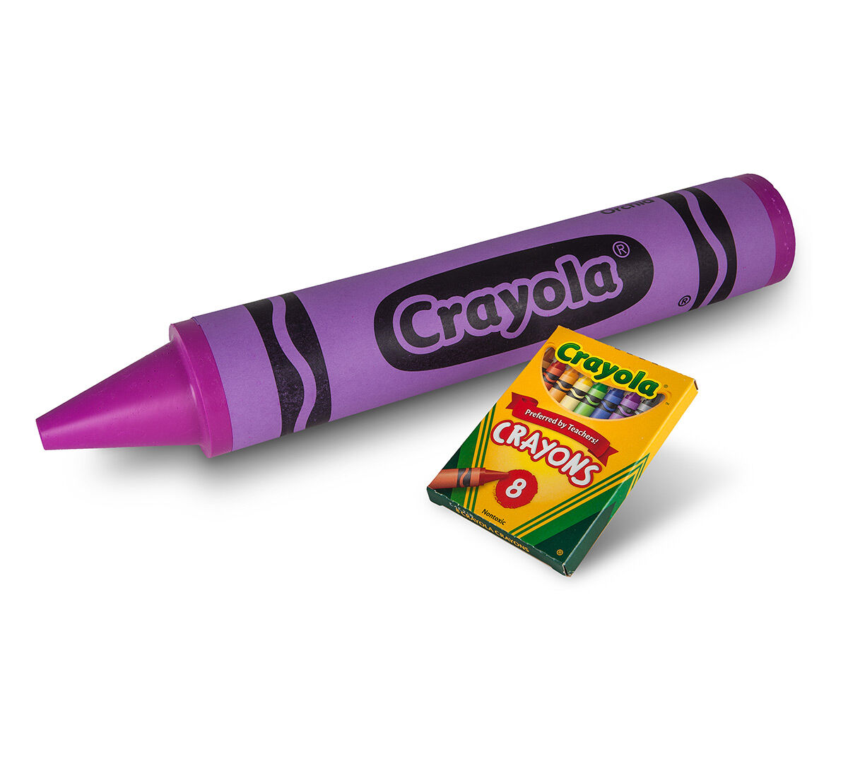 Giant Crayola Crayon - Orchid