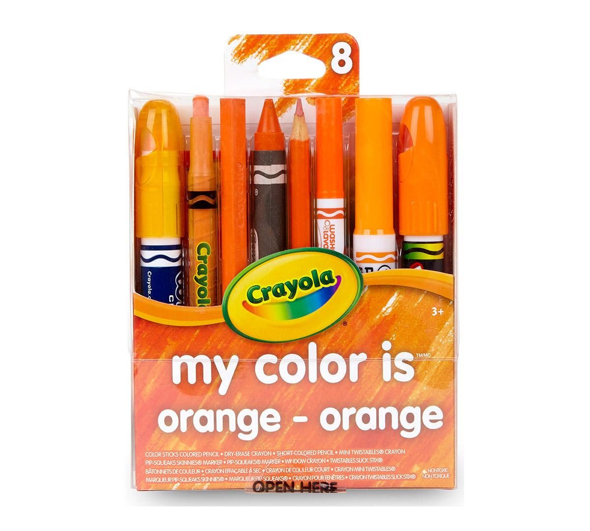Crayola My Color Is Orange