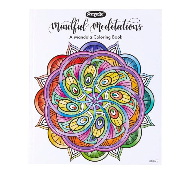 Mandala Coloring Book, 27 Coloring Pages  Crayola.com  Crayola