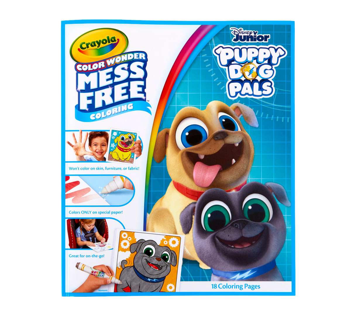 Color Wonder Mess Free Puppy Dog Pals Book