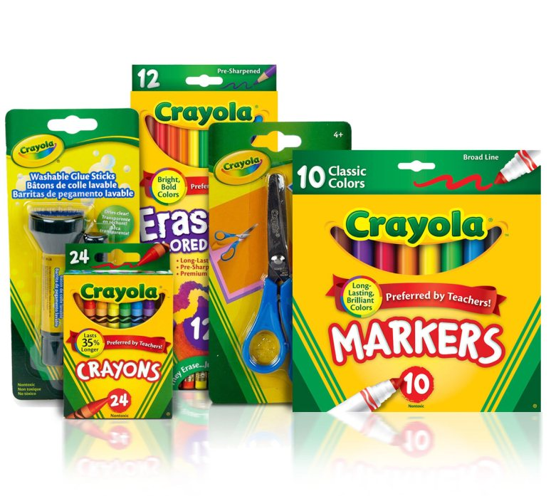 Essential Elementary School Supplies Kit | Crayola.com ...