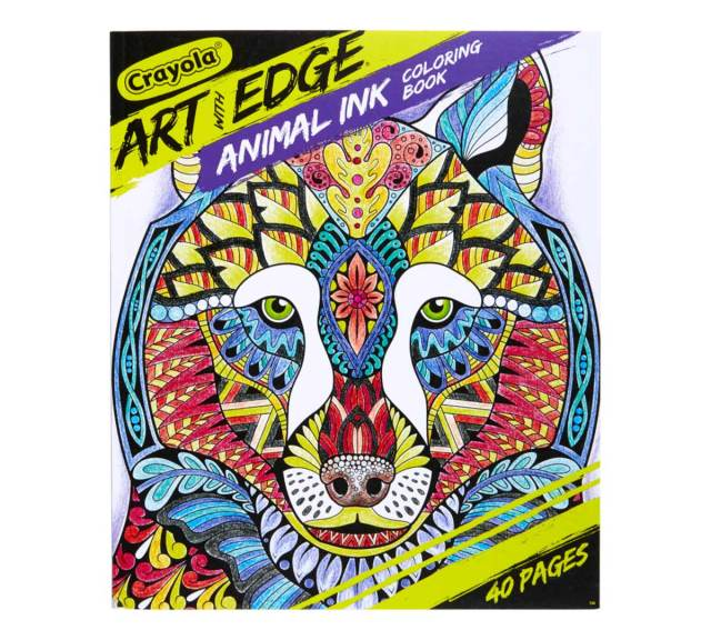 Jungle Animal Coloring Book, Adult Coloring  Crayola.com  Crayola