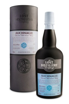 Auchnagie Deluxe highland whisky malt lost distillery company