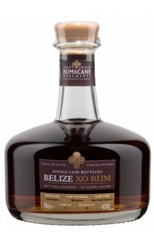 Belize XO Single Cask rum 70cl, 46% gift tin