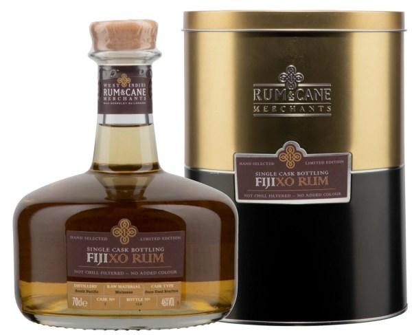 Fiji XO rum single cask rum & cane merchants south pacific distillery